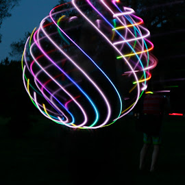 by Eva Pastor - Abstract Light Painting (  )