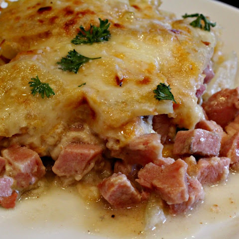 Country Ham and Potato Bake
