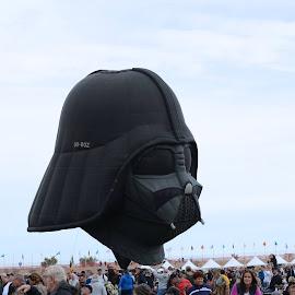 Darth Vader Balloon by Deborah McLeod McDonald - Uncategorized All Uncategorized
