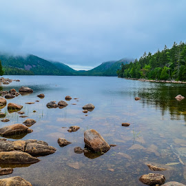 Jordan Pond by Al Koop - Landscapes Waterscapes ( wonsqueak harbor, 2015 maine vacation )