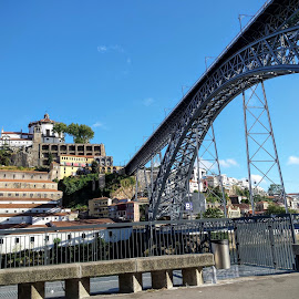 Ponte D Luis I by Joao Pires - Buildings & Architecture Bridges & Suspended Structures ( ponte, travel, bridge, portugal, pont, porto )