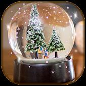 Snow Globe Live Wallpaper Design
