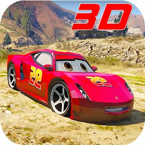 Superhero League (Lightning Car Stunts) For PC