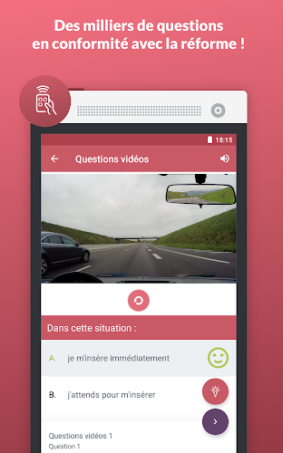 Code de la route 2017 Android App Screenshot