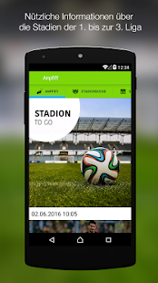 Stadion to go - screenshot