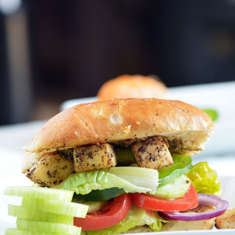 Easy Quick Cottage Cheese-Paneer Sandwich