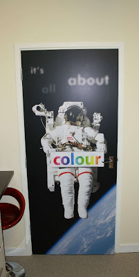 Colour printing for bedroom doors