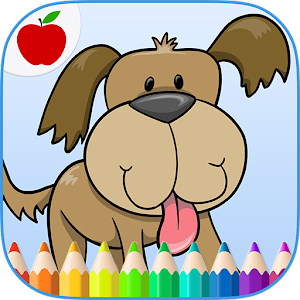 Kids Pets Coloring Book Game