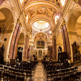 Mdina Cathedral, Malta. by Simon Page - Buildings & Architecture Places of Worship