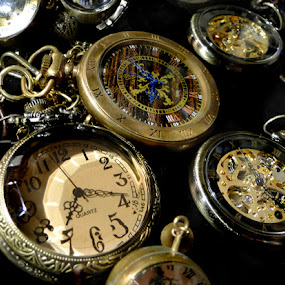by Liz Rosas - Artistic Objects Other Objects ( timepiece, pocket watch, time piece, antique )