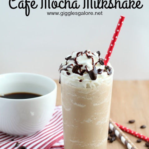 Mocha Coffee Milkshake