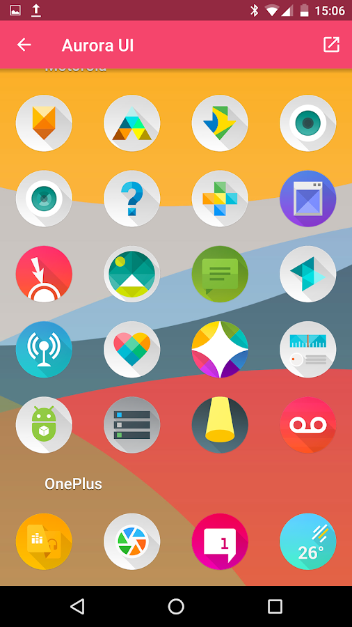 Aurora UI - Icon Pack Screenshot 5