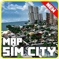 Map of Sim City for minecraft pe APK for Kindle Fire