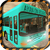 Game Dangerous Mountain Bus Driving APK for Kindle