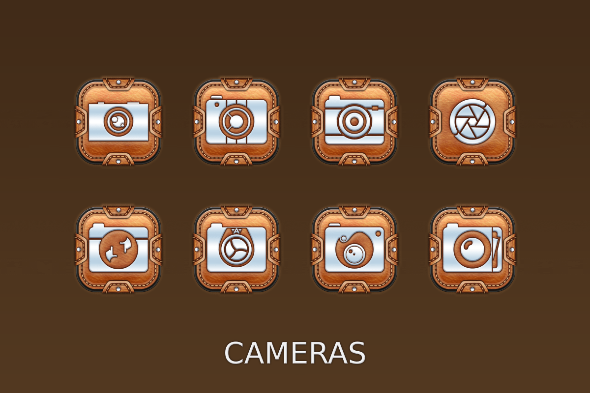 Leather Pouch-Icon Pack Screenshot 10