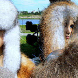fashion by Vygintas Domanskis - Artistic Objects Clothing & Accessories ( fashion, colors, woman, fur, accessories )