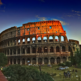 the colloseum by Davis L. Antonio - Buildings & Architecture Statues & Monuments