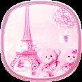 APK App teddy Paris Eiffel Tower theme for BB, BlackBerry