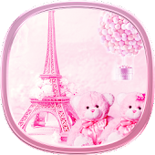 APK App teddy Paris Eiffel Tower theme for BB, BlackBerry