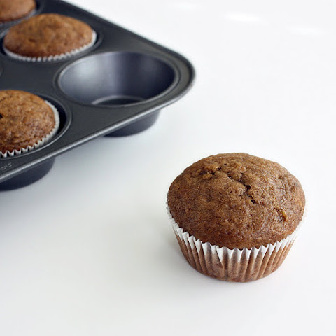 Banana Molasses Muffins