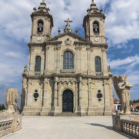 Sanctuary of Sameiro by Rui Medeiros - Buildings & Architecture Places of Worship ( braga, sanctuary, sameiro, church, portugal )