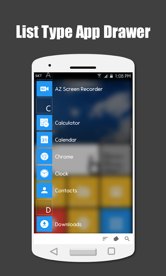 SquareHome 2 - Launcher: Windows style Screenshot 3