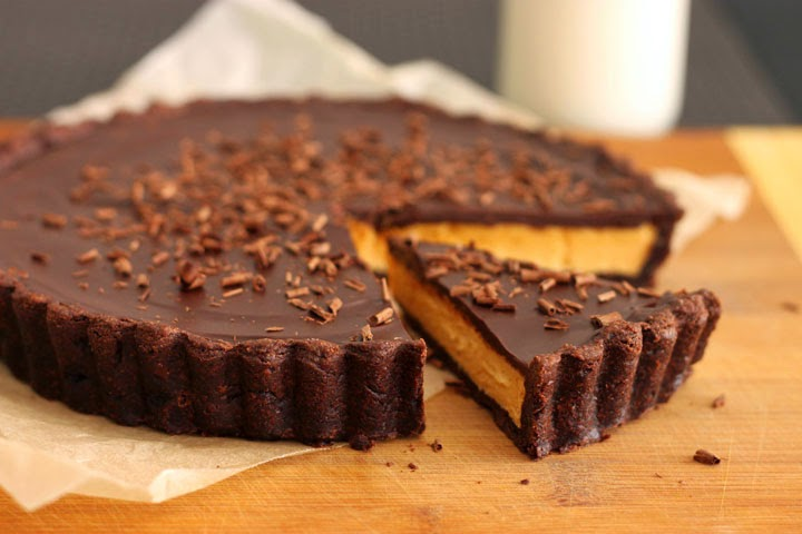Giant Reese's Peanut Butter Cup Tart Recipe | Yummly