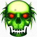 Skull Tech Theme for Lollipop - Android 5.0