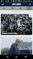 Screenshot of Seattle Seahawks Mobile