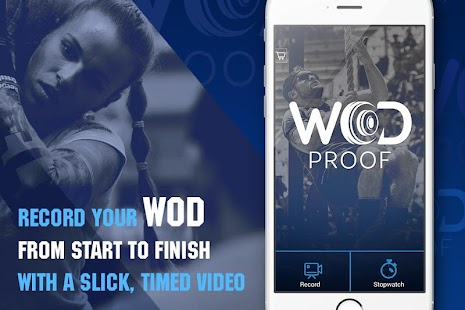 WODProof - WOD Video Timer Fitness app screenshot for Android