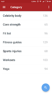Health & Fitness books Fitness app screenshot for Android