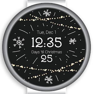 25 Days Christmas Watch Face For PC / Windows 7/8/10 / Mac – Free Download