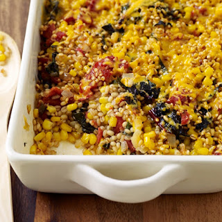 Vegetable-Barley Casserole