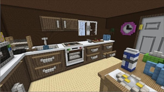 Kitchen Ideas In Minecraft game kitchen craft ideas minecraft apk for windows phone | android