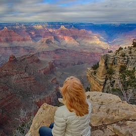 And I think to myself..... What a wonderful world by Bob Brown - Landscapes Travel ( south rim, what a wonderful world, viewpoint, usa, grand canyon )