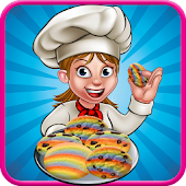 Game Rainbow Cookie Maker - Crazy Chef APK for Windows Phone