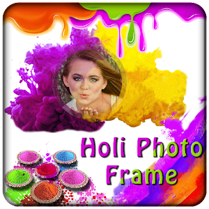 Holi Photo Frames 2017