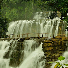 The Cascades of Tinuy-an Falls by Wilbert Quebral - Nature Up Close Water