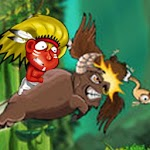 Running In Jungle Icon