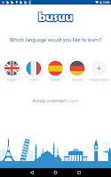 Screenshot of Language Learning - busuu
