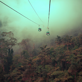 SkyWay at genting highland by Cuandi Kuo - Travel Locations Air Travel ( d800, 35/1.4, genting, cark zeiss, zf2 )