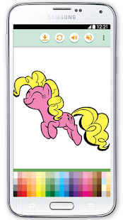 Little Pony Coloring Game - screenshot