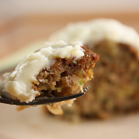 Pineapple Zucchini Cake with Cream Cheese Frosting