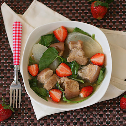 Pork Sinigang with Strawberries