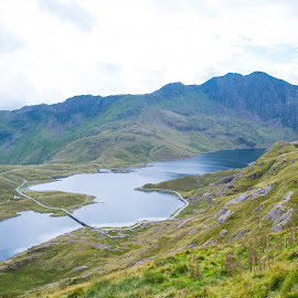 Snowdonia national park by Sanil Photographys - Landscapes Mountains & Hills ( hills, north wales, mountains, national park, nature, sanilphotography, lake, snowdonia, landscape, northwales )
