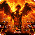 App Fire Angel Keyboard Theme APK for Windows Phone