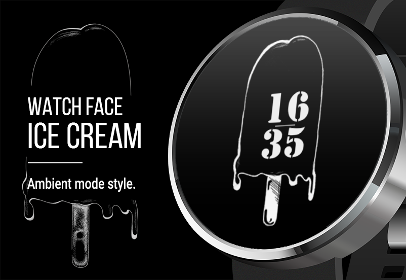 Watch Face: IceCream Screenshot 2