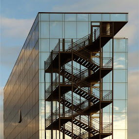 Heavenly stairs by Jasminka Lunjalo - Buildings & Architecture Bridges & Suspended Structures