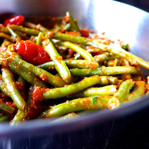 Green Beans, Low Calorie Side Dish !
