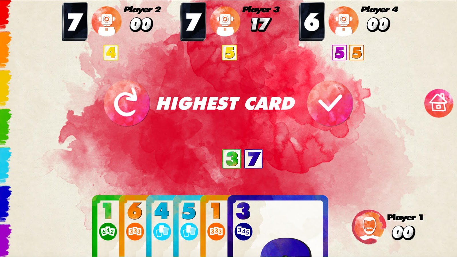 Red 7 (Digital Red7 Card Game) Screenshot 4